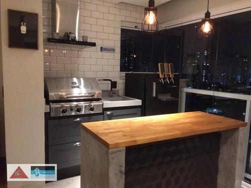Imagem 1 de 30 de Apartamento Com 2 Dormitórios, 78 M² - Venda Por R$ 980.000,00 Ou Aluguel Por R$ 4.500,00/mês - Jardim Anália Franco - São Paulo/sp - Ap5025