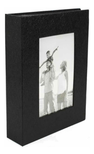 Álbum Fotográfico 15x21 P/ 100 Fotos - Porta Retrato Na Capa