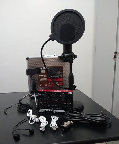 Kit Interface De Audio Soundvoice Lite Soundcast Kt-300