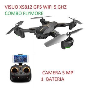 Drone Visuo Xs812 Gps 5g Wifi Fpv 1080p 15 Min