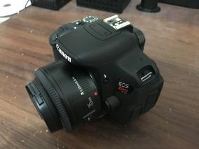Canon T5i + Lente Yongnuo 35mm