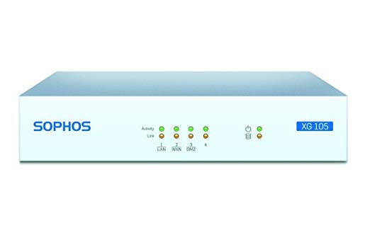 Sophos | Xb1a3csus | Xg 105 Totalprotect, De 3 Años (cable D