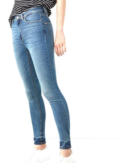 Pantalones Dama Mng Authentics Soho Skinny Jeans