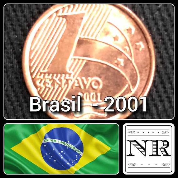 Brasil - 1 Centavo - 2001 - Km # 647 - Cabral