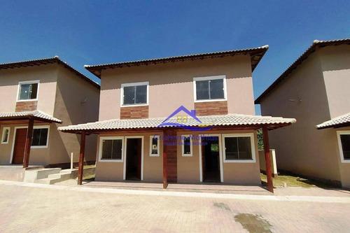 Casa Com 2 Dormitórios À Venda, 69 M² Por R$ 245.000,00 - Itaipuaçu - Maricá/rj - Ca0902