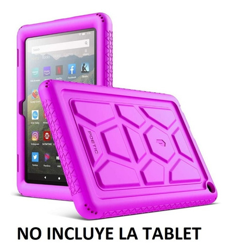 Forro Fucsia Tablet Amazon Fire Hd 8 Generacion 10 Año 2020