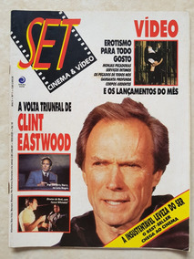 Revista Set 019 Cinema E Vídeo Clint Eastwood Erotismo Sexo