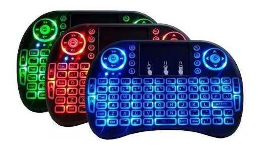 Mini Touch Pad Keyboard Teclado Sem Fio Wireless Led Pc A