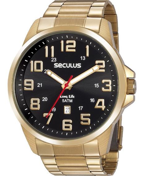 Relógio Masculino Seculus 20807gpsvda2
