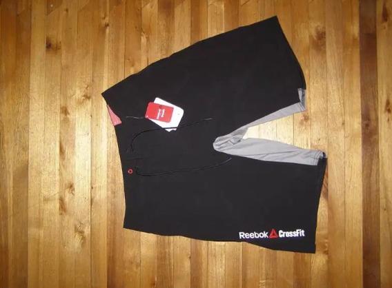 Pantaloneta Negra Reebok Crossfit