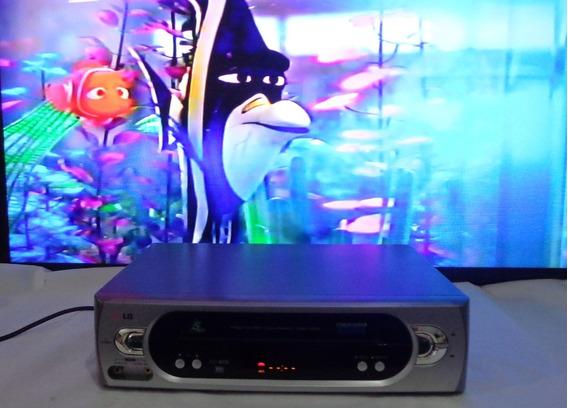 Video Cassete LG Cc450b - 5 Cabeças - Funcionando