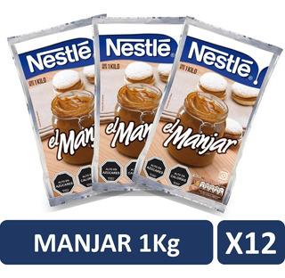 Manjar Nestle 1kg Pack X12