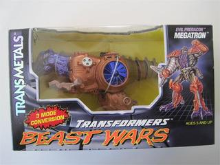 Transformers Transmetal Megatron
