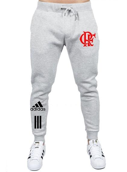 Calça De Moletom Slin Flamengo Futebol Ótima Qualidade