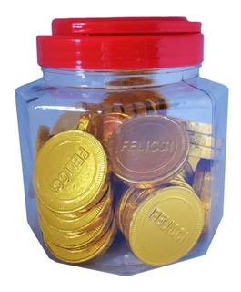 Monedas De Chocolate Felicci Tarro X 45 U - kg a $7