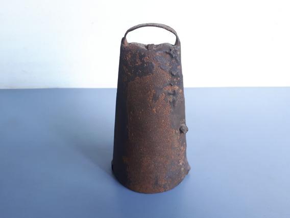 Antigo Sino / Sineta Para Boi / Vaca Em Ferro