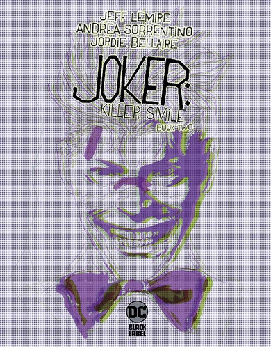 Joker: Killer Smile Book 2 De 3 (2019) Dc Black Label