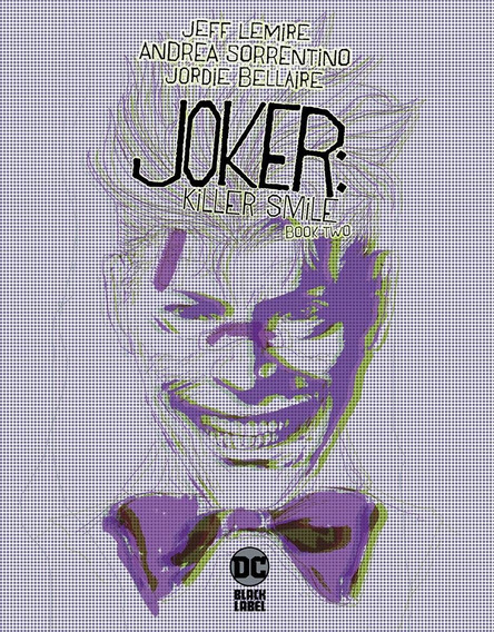 Joker: Killer Smile Book 2 De 3 (2019) Dc Black Label