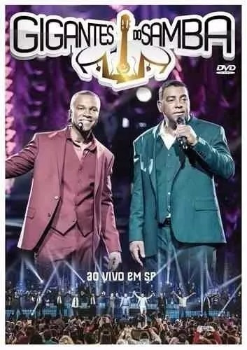 Gigantes Do Samba Ao Vivo Em Sp Dvd