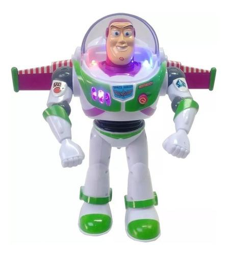 Buzz Lightyear, Juguete Camina Luz Y Sonido, Toy Story Ajd