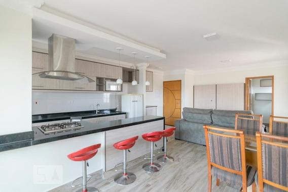 Apartamento No 3º Andar Mobiliado Com 2 Dormitórios E 2 Garagens - Id: 892960055 - 260055