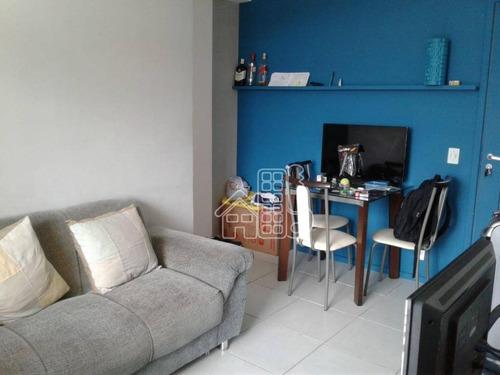 Apartamento Com 2 Dormitórios À Venda, 65 M² Por R$ 299.000,00 - Centro - Niterói/rj - Ap3671