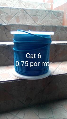 Imagen 1 de 3 de Cable Utp Cat 6