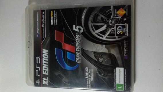 Xl Edition Gran Turismo 5 Ps3 Mídia Física Original