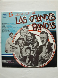 15 Originales De Las Grandes Bandas Lp 33 3pm