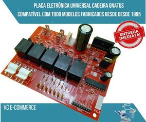 Placa Eletrônica Universal Cadeira Gnatus - Todas Desde 1995