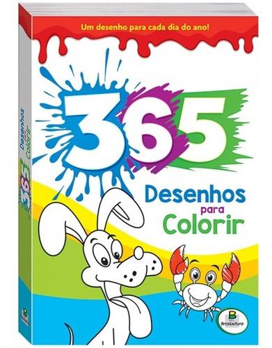 Livro 365 Desenhos Para Colorir Todolivro