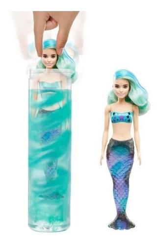 Barbie Color Reveal Sirena Original Y Nueva Mattel