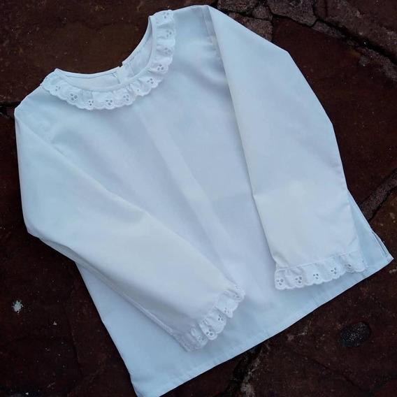 Camisa Nena Mangas Largas