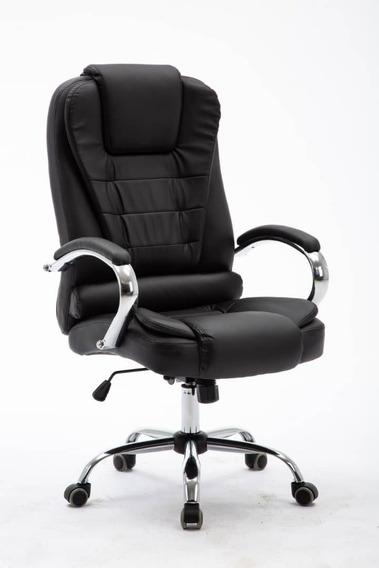 Cadeira Executiva Presidente Diretor Giratória Reclinável