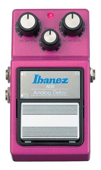Pedal De Efeito Para Guitarra Ibanez - Analog Delay Ad 9