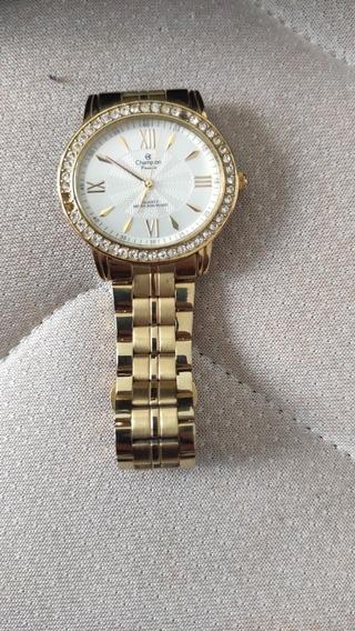 Relógio Champion Feminino Dourado - Ch24722h
