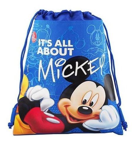 Saco Tipo Mochila Modelos Mickey E Minnie P Entrega