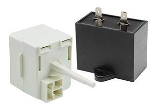 Equipo Relé De Comienzo Compresor Refrigerador Que Funciona