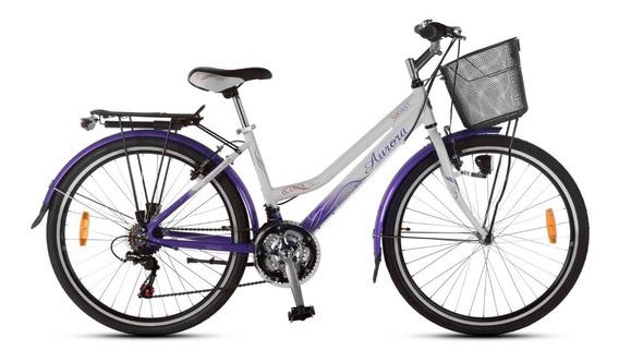 Bicicleta Paseo Dama Aurora Ona 26