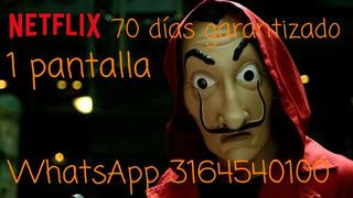Cu*ent*es De Ne*tf*ix Por 70 Día*s / 1 Dis*pos*iti*vo