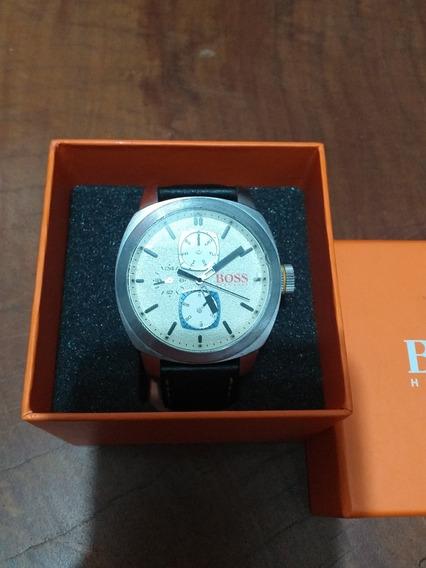 Hugo Boss Relógio Quartz Semi-novo Na Caixa Promoção R$499!!