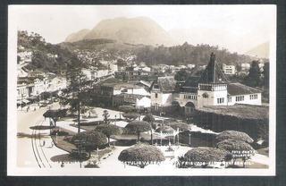 Foto Postal Colombo 30 - Praça Getulio Vargas Nova Friburgo