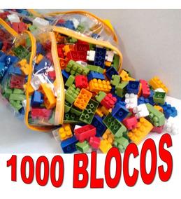 Brinquedo Educativo 1000 Peças Blocos De Montar