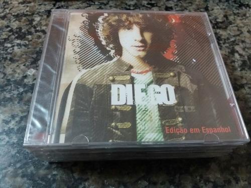 Cd Diego - Rbd - Edição Espanhol - Tiragem Aa Lacrado
