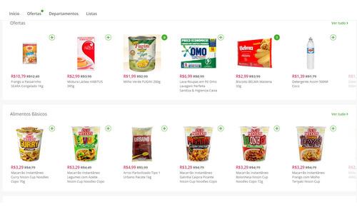 E-commerce Com Aplicativo Loja Mercado Roupas Farmacias Celu