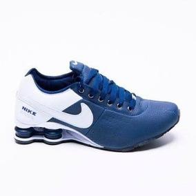 371f94f9fbd Nike Shox Feminino Tamanho 34 - Tênis Azul no Mercado Livre Brasil