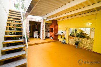Casa Campo Belo, Totalmente Modernizada, Com Churrasqueira E 2 Vagas. - Bi23317