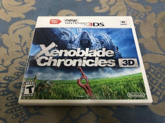 Jogo Nintendo 3ds Xenoblade Chronicles 3d Fisica Original