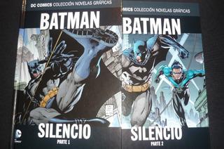 Dc Comic Batman Silencio Editorial Salvat