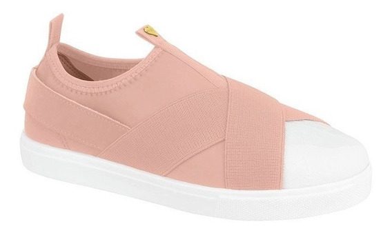 Sapato Tênis Infantil Oxford Rosa Tecido Molekinha C C+